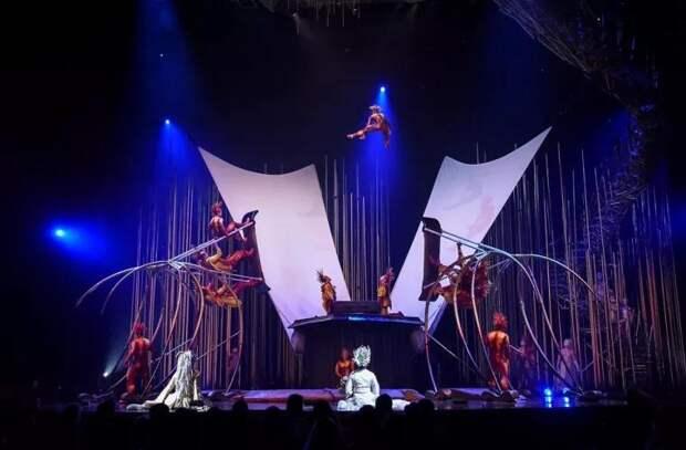 Cirque du Soleil возобновляет выступления