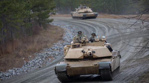 К границе Белоруссии подошли американские танки: Они всего в 15 километрах