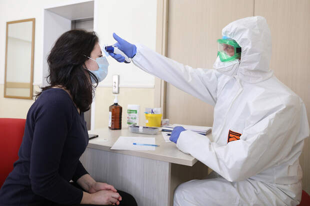 В России выявлено 9 803 новых случая коронавируса