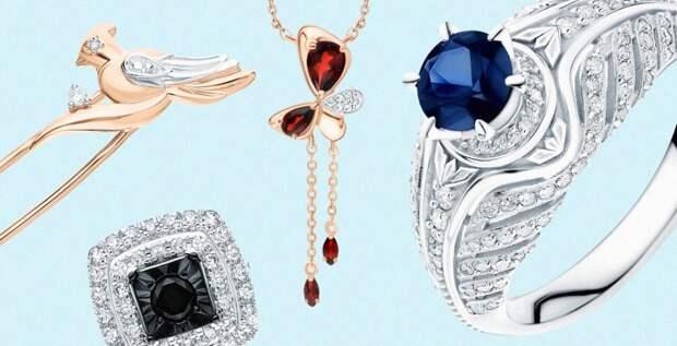 Зодиакальные камни апреля: бриллиант, гранат и сапфир