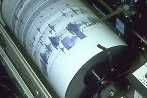 В Тихом океане зафиксировано землетрясение магнитудой 5,5