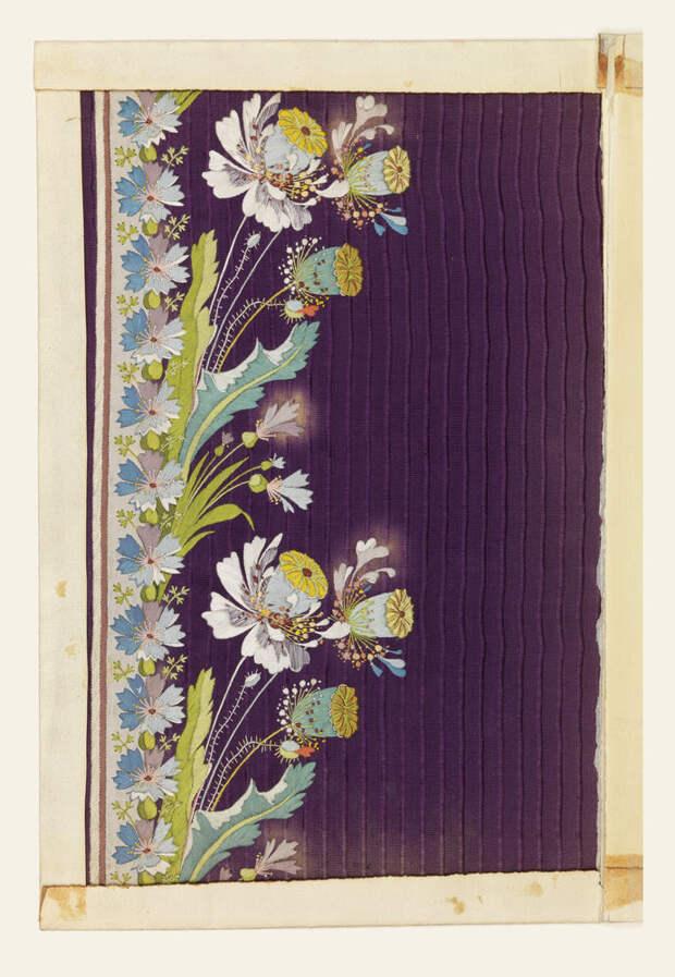 Образцы старинных вышивок 1770-1790 годов