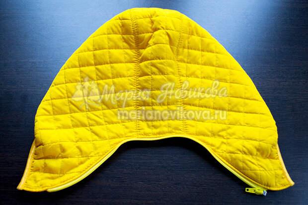 Капюшон для женской куртки своими руками