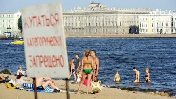ВСанкт-Петербурге зафиксирована рекордная жара запоследние 116 лет