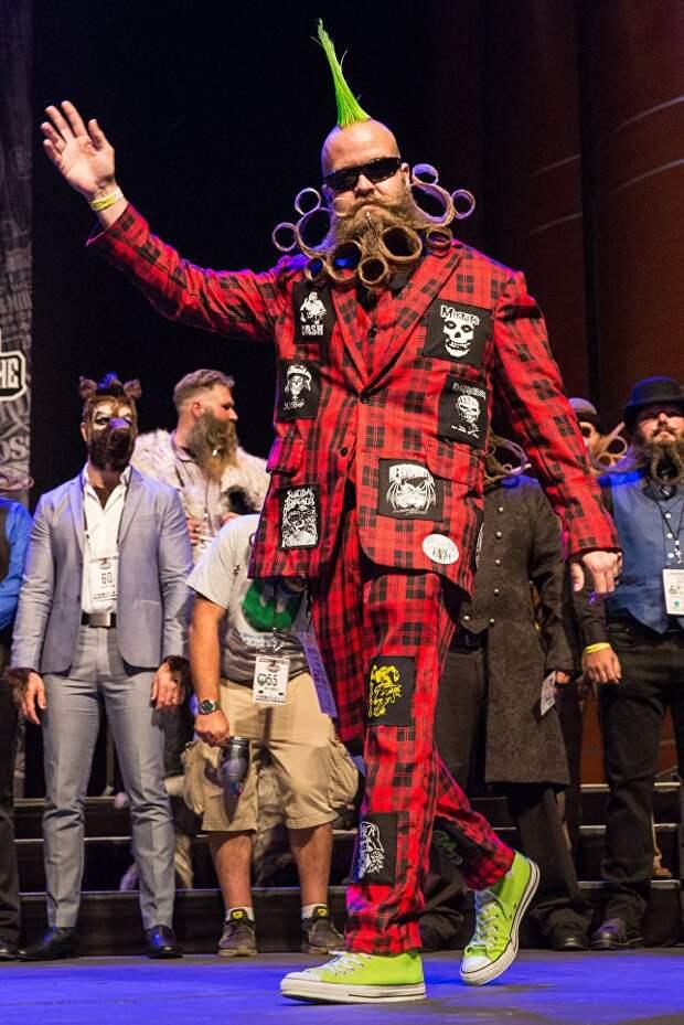 В Штатах прошел бородатый чемпионат (фото)