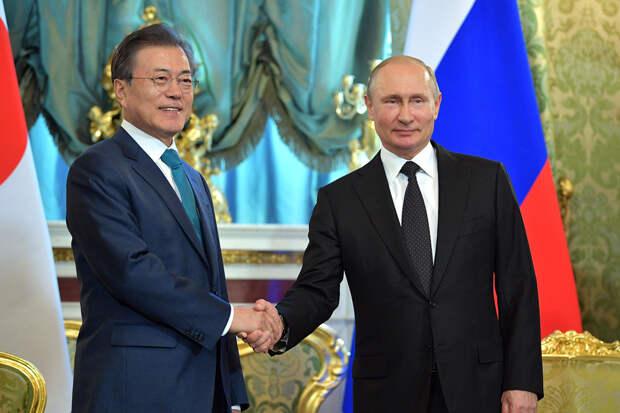 Путин отправится в Южную Корею после прививки от COVID-19