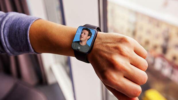 Facebook выпустит первые смарт-часы с двумя камерами