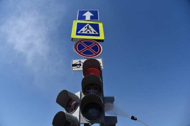 Собянин открыл движение по двум новым автодорогам в ТиНАО. Фото Агентства «Москва»