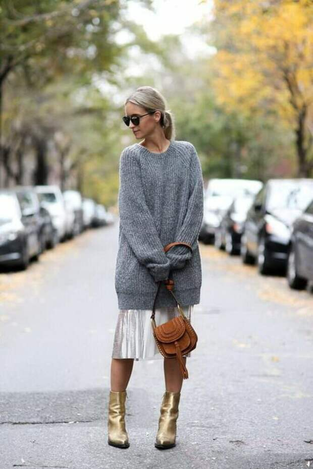 Кашемировый свитер – новый тренд холодного сезона