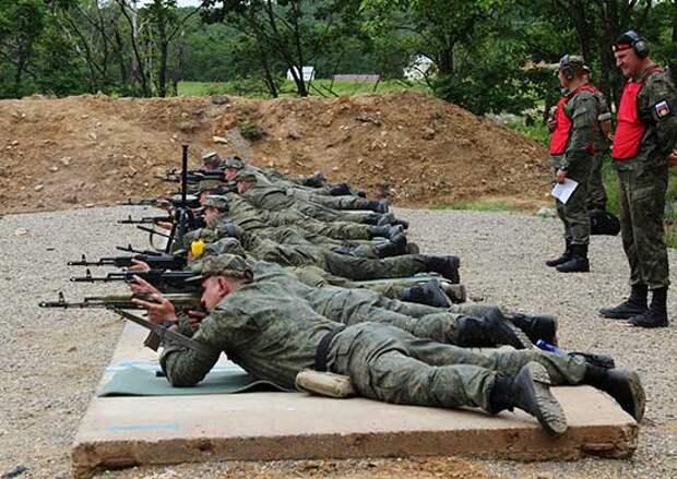 В главной базе Тихоокеанского флота завершился чемпионат Восточного военного округа по стрельбе из штатного оружия
