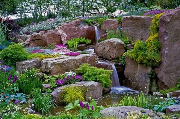 Садовый «Стонхендж». Как создать скалистую местность на участке?