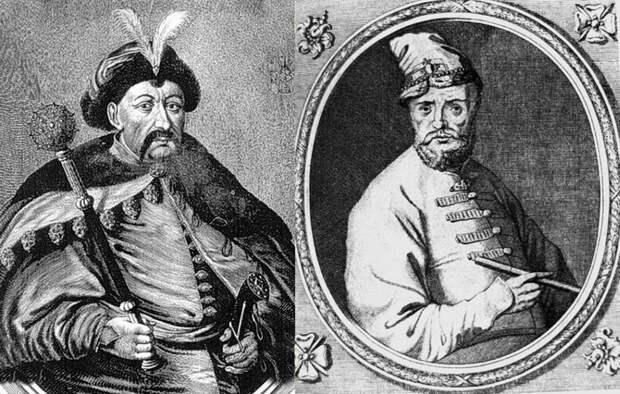 Гетман Б.М. Хмельницкий и воевода боярин В.Б Шереметев