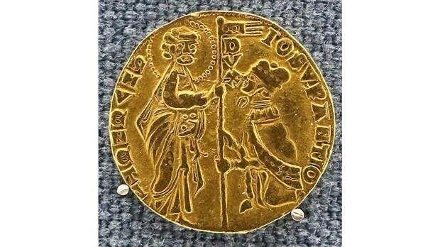 Европейские золотые монеты XIV века чеканились в основном из африканского золота