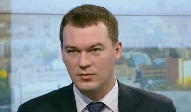 Михаил Дегтярёв дал отчет депутатам Хабаровского края