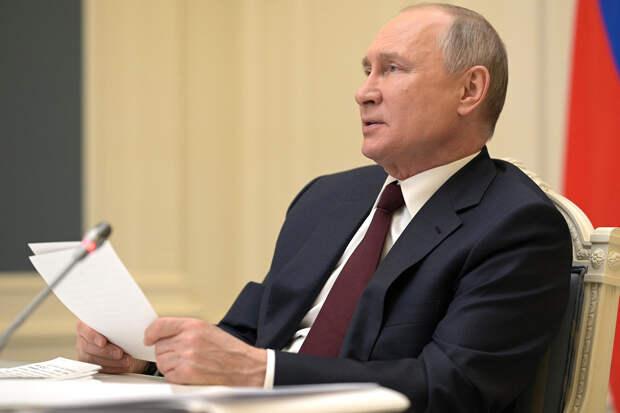 Путин призвал резервистов на военные сборы