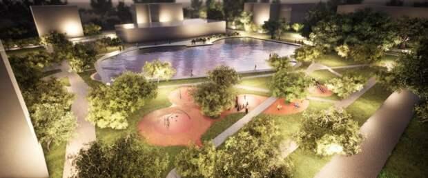 Возле Амбулаторного пруда появится обновленный сквер