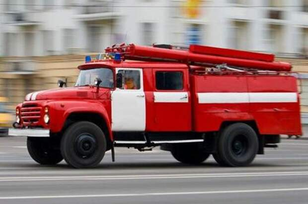 В Краснодаре в двух жилых домах произошел пожар