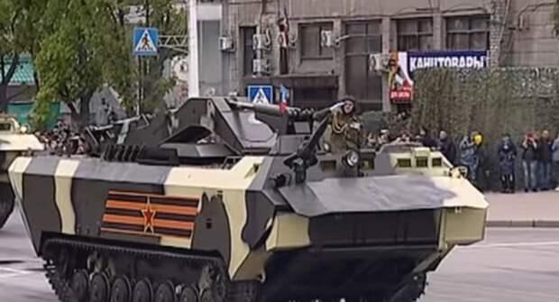 Единственный экземпляр: бронированную машину «Держатель» показали в ЛНР