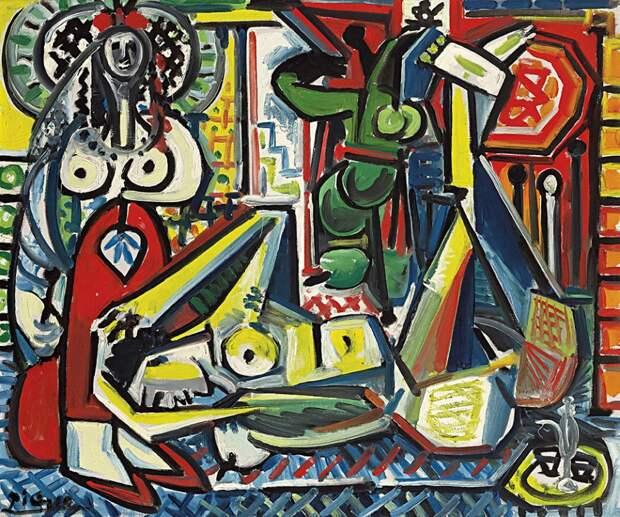 Поп-арт «Обнаженная свеселым рисунком» продали зарекордные 46,2 млн долларов