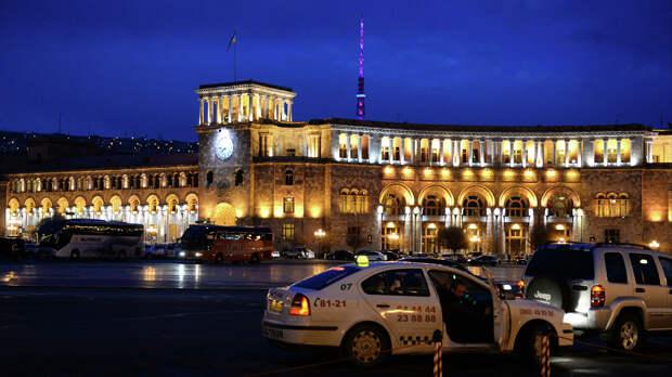 Ситуация в Ереване после выборов спокойная