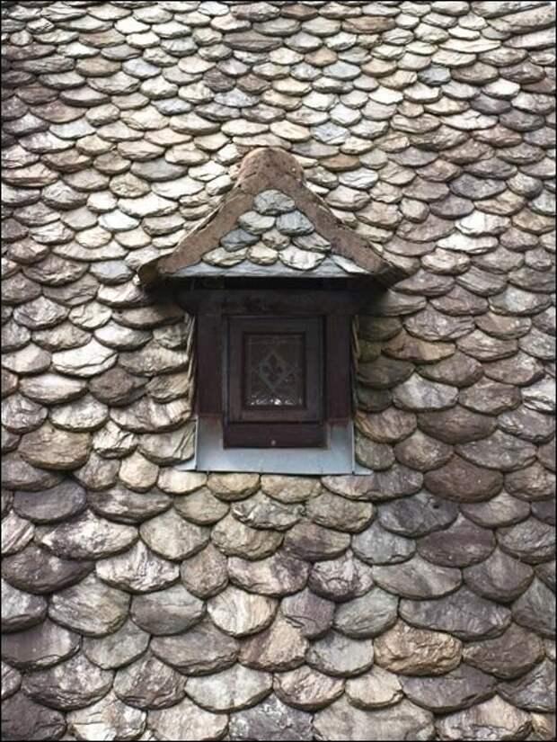 Из камня. Старо как мир и также прекрасно Материалы, Фабрика идей, интересное, красиво, крыши, необычное, стройка
