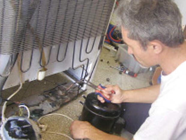 Как производится ремонт холодильников?