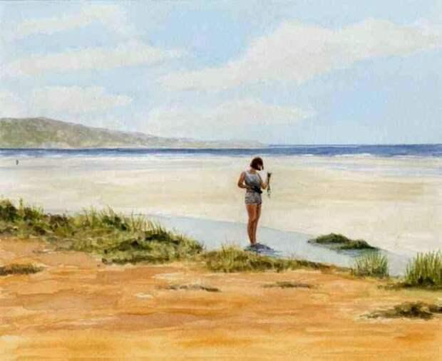 Британский художник. John Damsell