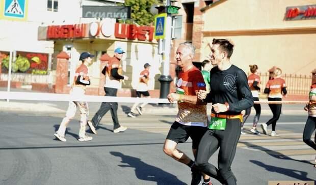 Чиновники продемонстрировали завидные результаты на Уфимском международном марафоне