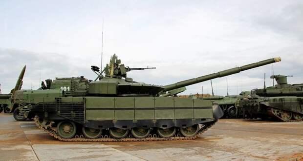 Танки Т‑80БВМ впервые отстрелялись в Подмосковье