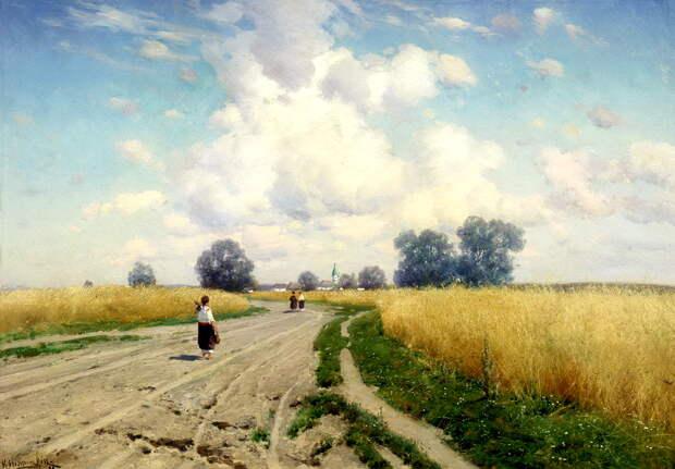 Почему из-за картины, написанной по фотографии, художник лишил себя жизни: Константин Крыжицкий