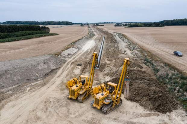 Строительство Baltic Pipe