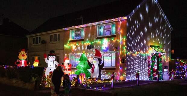 Британка решила не ждать Рождество, а отмечать уже сейчас