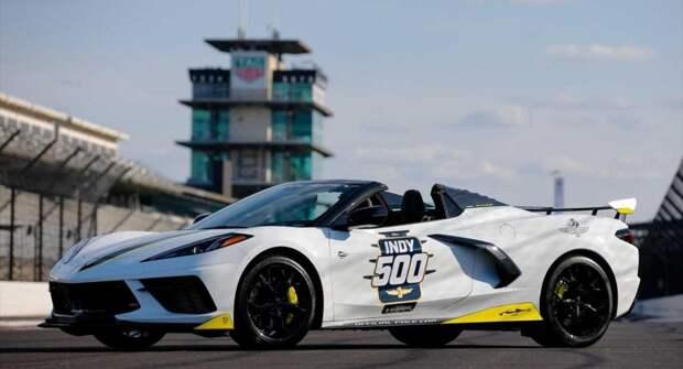 Chevy Corvette станет официальным пейс-каром автогонки Indy 500
