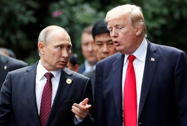 Шэрон Стоун сравнила президентов России и США