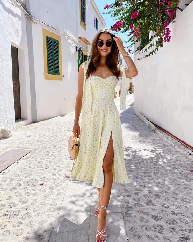 Пора покупать платье в цветочек: 10 стильных моделей