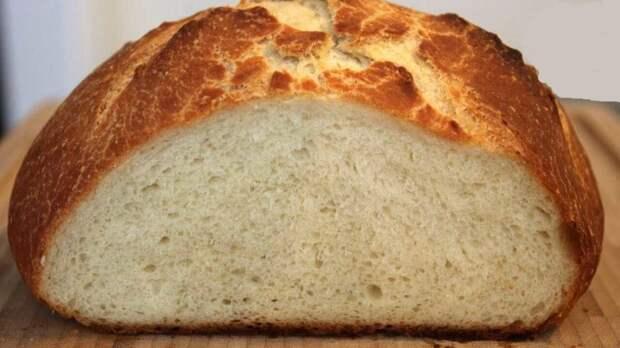Хлеб на кефире за 5 минут