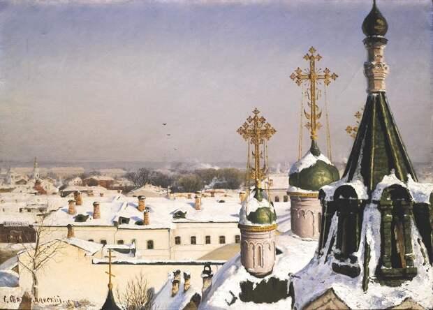 Города России на картинах русских художников