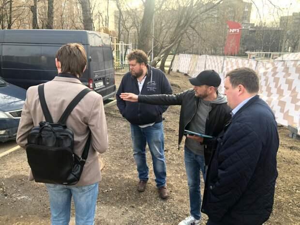 Новая зона отдыха появится на улице Симоновский Вал