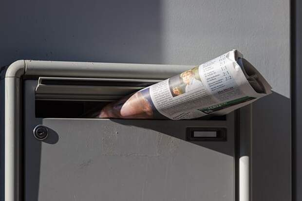 Газета, Доставка Газет, Почтовый Ящик