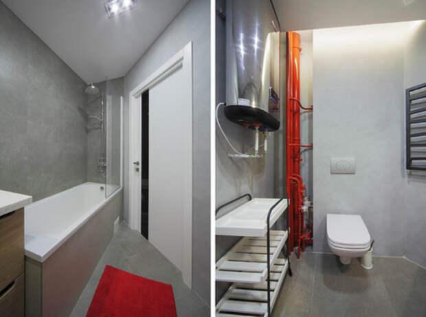 20 идей для маленькой ванной комнаты и туалета