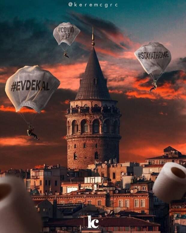 Сюрреалистические фотоманипуляции турецкого фотохудожника Керема Джигерджи