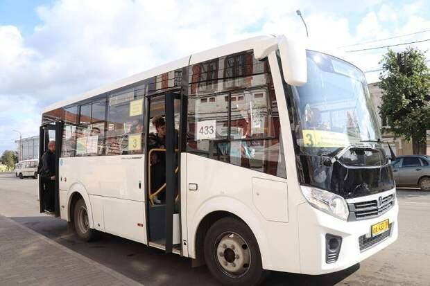 Пять низкопольных автобусов появилось в Сарапуле