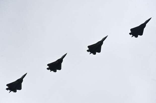 Иностранцы оценили воздушную часть Парада Победы в Москве