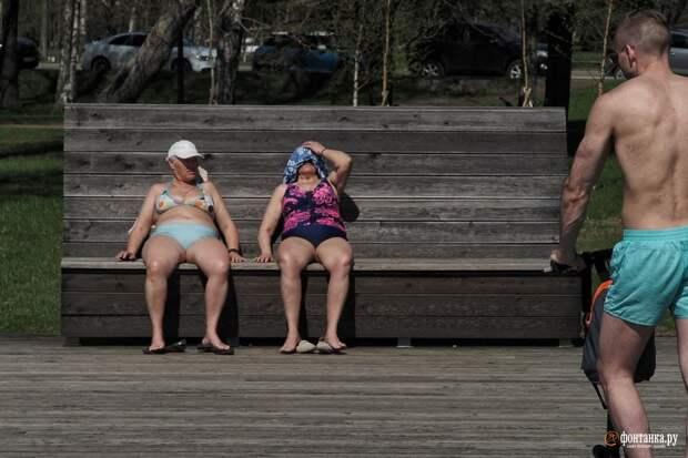 Погода в столице дотянулась до петербургского рекорда. А в Ленобласти может быть жарче