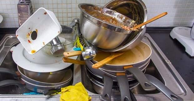 Согласно исследованию, мытье посуды может значительно снизить уровень стресса