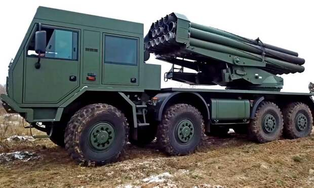 На Украине испытали замену советским РСЗО «Ураган»