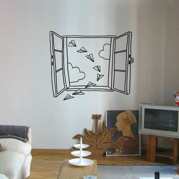 Фрески XXI века: окна и камины