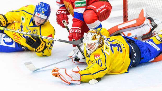 Россия обыграла Швецию в первом матче чешского этапа Евротура