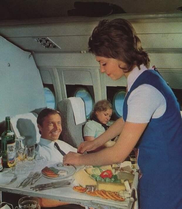 Некоторые особенности сервиса на «Аэрофлоте» удивляют и сегодня. /Фото: yaplakal.com.