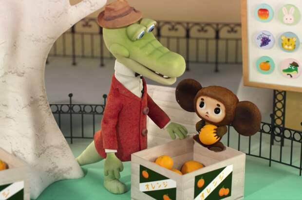 Японские аниматоры создали 3D-мультфильм про Чебурашку и Крокодила Гену